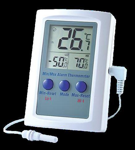Indoor Outdoor Thermometer Digital Dual Temperature Display Sensor Greenhouse AU